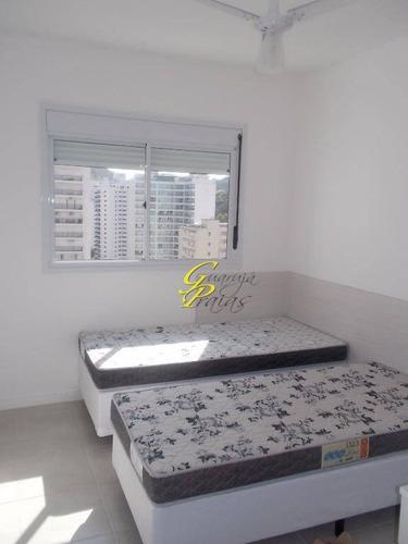 apartamento  residencial à venda, pitangueiras, guarujá. - codigo: ap1885 - ap1885