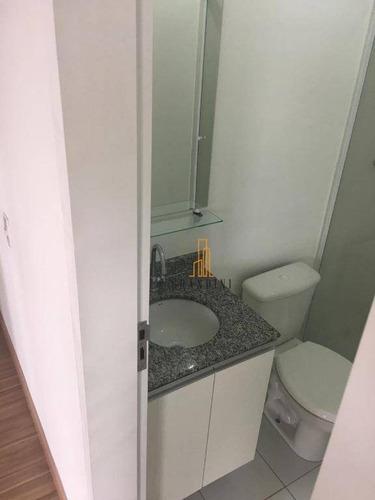 apartamento residencial à venda, planalto, são bernardo do campo. - ap1061