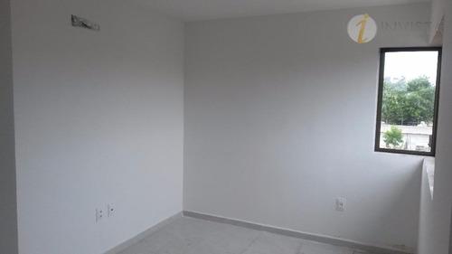 apartamento residencial à venda, poço, cabedelo - ap5556. - ap5556