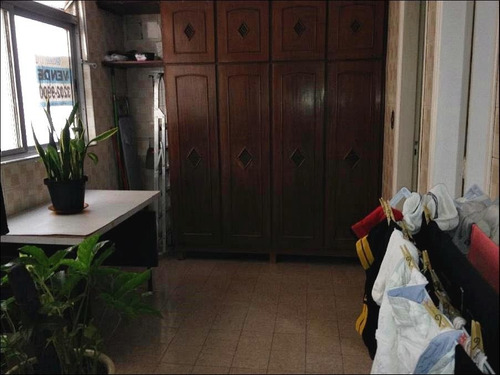 apartamento residencial à venda, pompéia, santos - ap0527. - ap0527