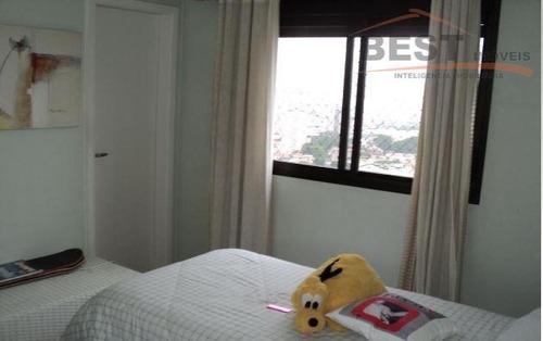 apartamento  residencial à venda, pompéia, são paulo. - ap3411