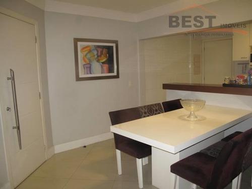 apartamento  residencial à venda, pompéia, são paulo. - ap4117