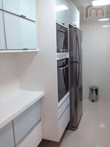 apartamento residencial à venda, ponta da praia, santos - ap0399. - ap0399