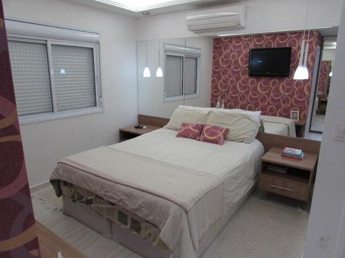 apartamento residencial à venda, ponta da praia, santos. - ap0647