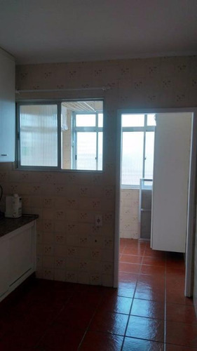 apartamento residencial à venda, ponta da praia, santos. - ap1088
