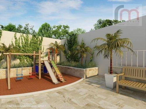 apartamento residencial à venda, ponta da praia, santos - ap1194. - ap1194