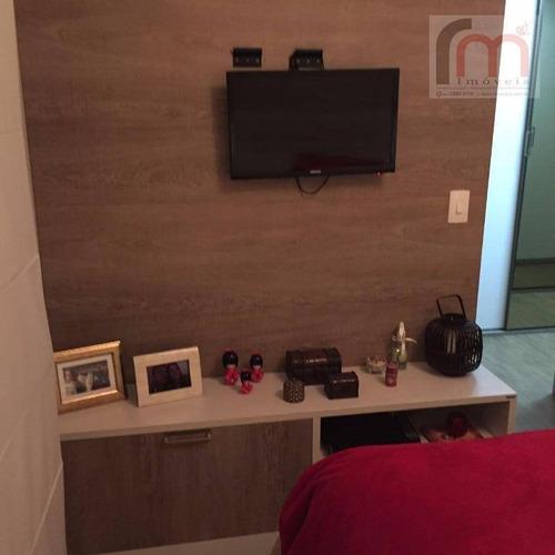 apartamento residencial à venda, ponta da praia, santos - ap2022. - ap2022