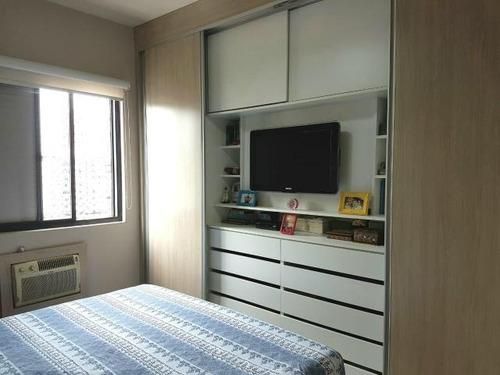 apartamento residencial à venda, ponta da praia, santos. - ap6907