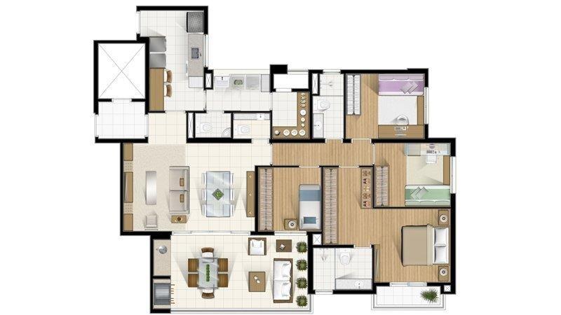apartamento  residencial à venda, ponta da praia, santos. - codigo: ap1464 - ap1464