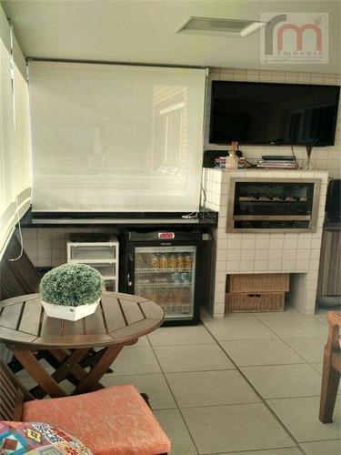 apartamento  residencial à venda, ponta da praia, santos. - codigo: ap1491 - ap1491