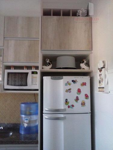 apartamento  residencial à venda, portal dos ipês ii, cajamar. - ap0025