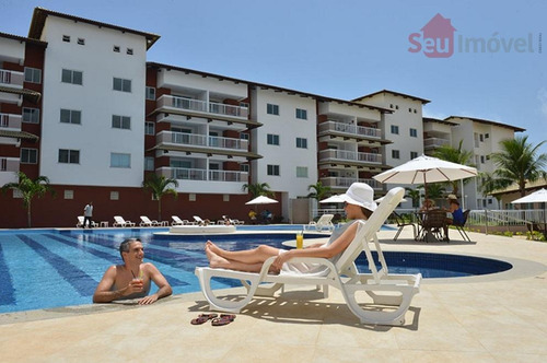 apartamento residencial à venda, porto das dunas, aquiraz. - ap0920