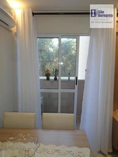 apartamento residencial à venda, praia azul, americana. - ap0090
