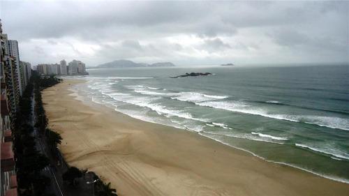 apartamento  residencial à venda, praia das pitangueiras, guarujá. - ap0845