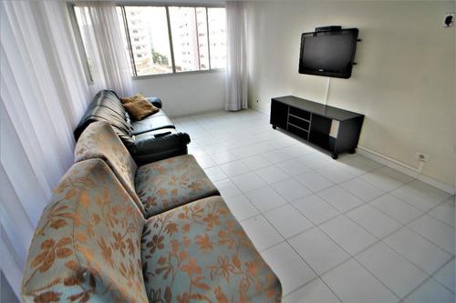 apartamento residencial à venda - praia das pitangueiras - guarujá. - ap4052