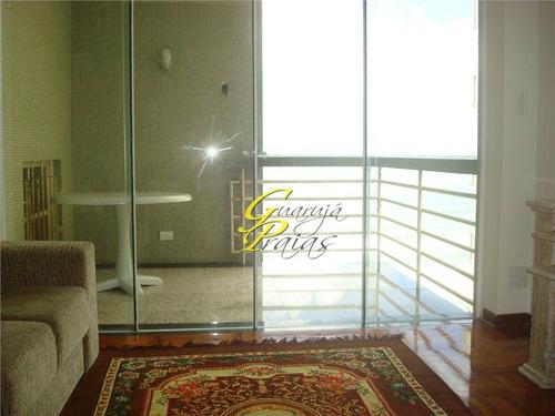 apartamento residencial à venda, praia das pitangueiras, guarujá. - codigo: ap0677 - ap0677