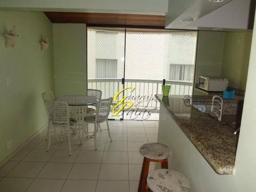 apartamento residencial à venda, praia das pitangueiras, guarujá. - codigo: ap2451 - ap2451