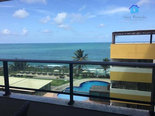 apartamento residencial à venda, praia de carapibus, conde. - ap0111