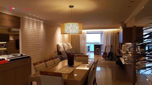 apartamento residencial à venda, praia de itaparica, vila velha. - ap0009