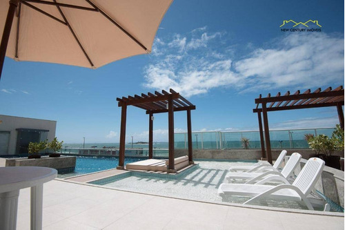 apartamento residencial à venda, praia de itaparica, vila velha - ap0657. - ap0657