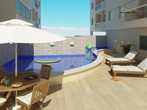 apartamento residencial à venda, praia de itaparica, vila velha. - ap1124