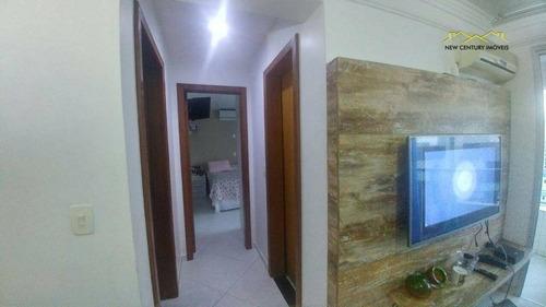 apartamento residencial à venda, praia de itaparica, vila velha. - ap2354