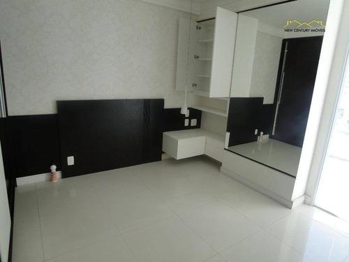 apartamento  residencial à venda, praia de itapoã, vila velha. - ap2024