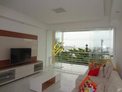 apartamento residencial à venda, praia de pitangueiras, guarujá - ap0150. - ap0150