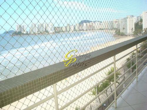 apartamento residencial à venda, praia de pitangueiras, guarujá. - codigo: ap0383 - ap0383