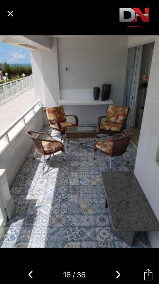 apartamento residencial à venda, praia de tabatinga, nísia floresta. - ap0250