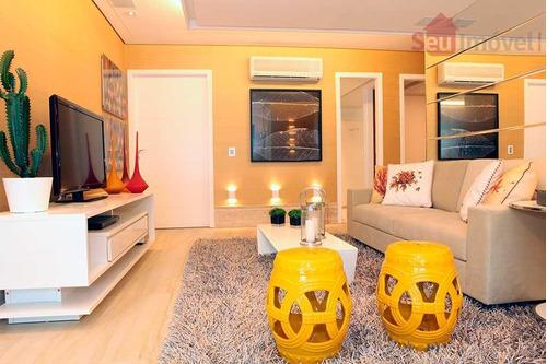 apartamento  residencial à venda, prainha, aquiraz. - ap0346