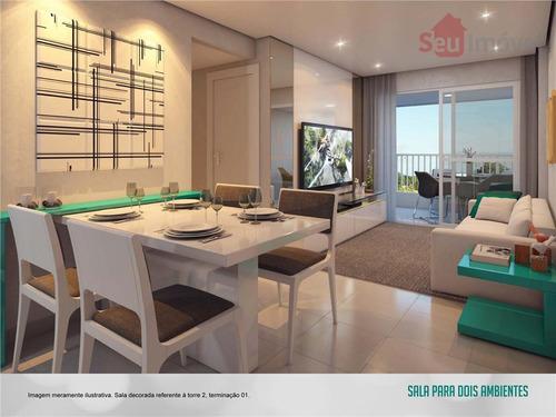 apartamento  residencial à venda, presidente kennedy, fortaleza. - ap0325