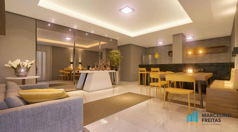 apartamento  residencial à venda, presidente kennedy, fortaleza. - codigo: ap2147 - ap2147