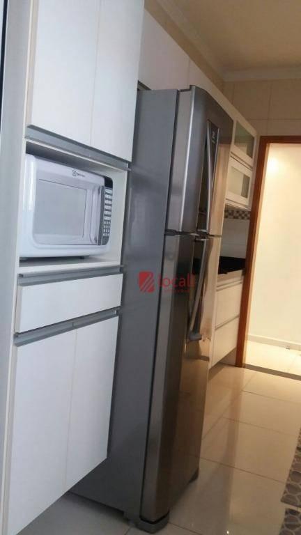 apartamento residencial à venda, redentora, são josé do rio preto. - ap1006