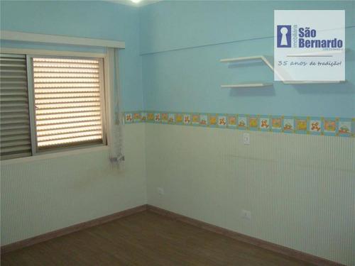 apartamento residencial à venda, residencial boa vista, americana. - ap0161