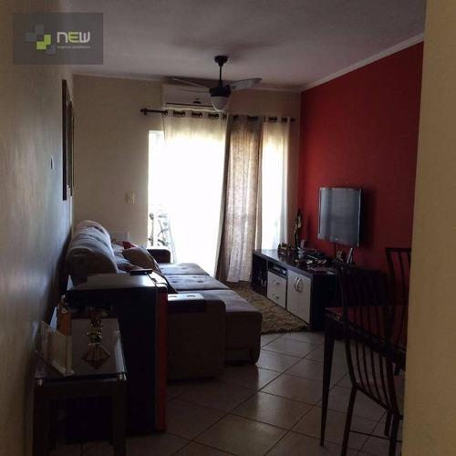 apartamento residencial à venda, residencial flórida, ribeirão preto. - ap0755