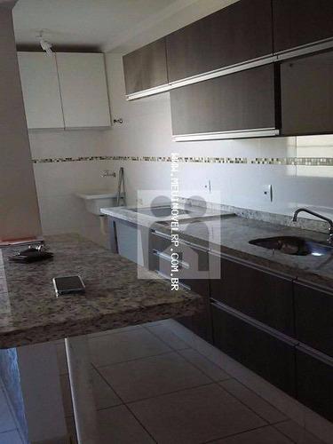 apartamento residencial à venda, residencial greenville, ribeirão preto - ap0340. - ap0340