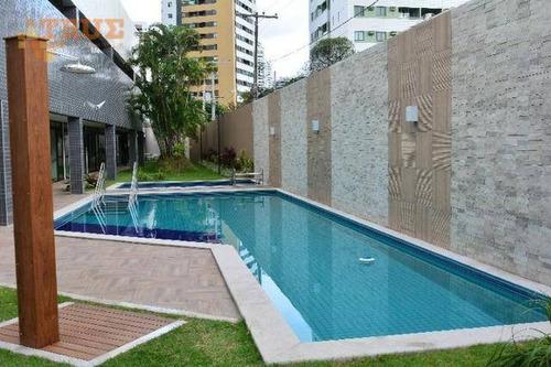 apartamento residencial à venda, rosarinho, recife. - ap2469