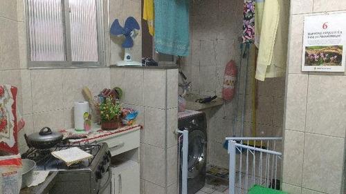 apartamento residencial à venda, saboó, santos. - ap0690