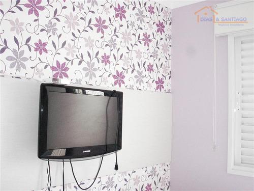 apartamento residencial à venda, sacomã, são paulo - ap0286. - ap0286