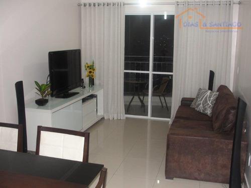 apartamento residencial à venda, sacomã, são paulo - ap0316. - ap0316