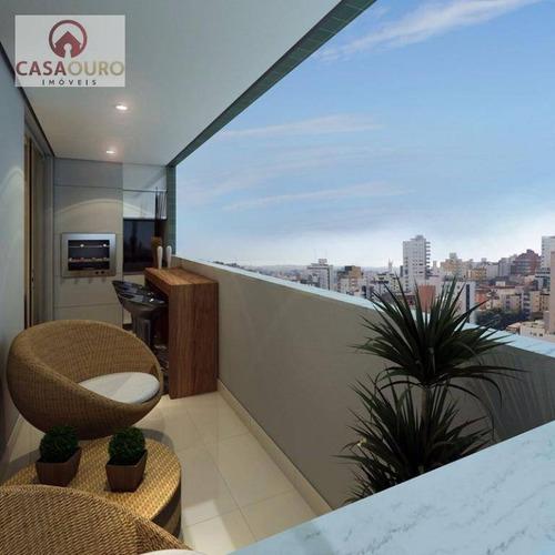 apartamento residencial à venda, sagrada família, belo horizonte. - ap0307