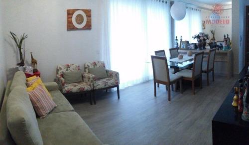 apartamento residencial à venda, santa cecília, piracicaba. - ap0858