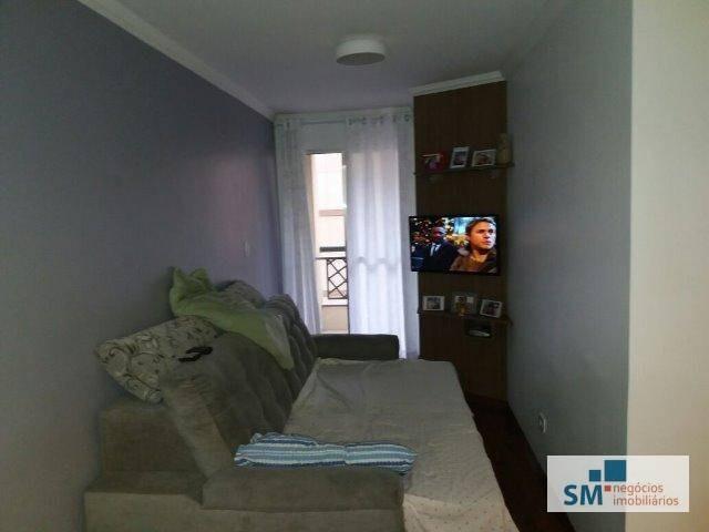 apartamento residencial à venda, santa maria, são caetano do sul. - ap1722