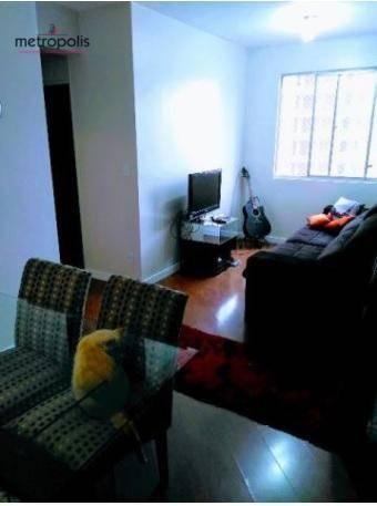 apartamento residencial à venda, santa paula, são caetano do sul. - ap0805