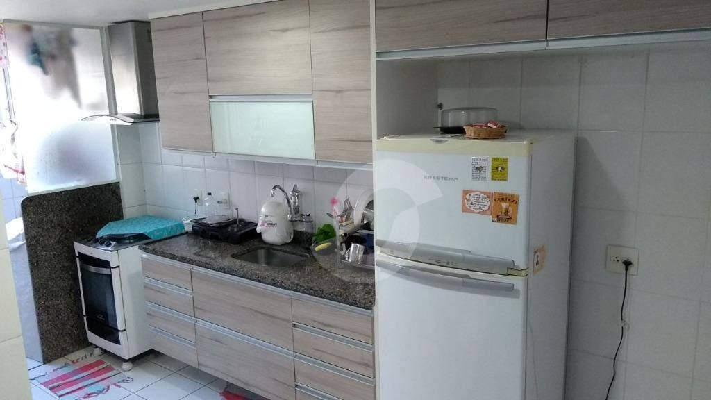 apartamento residencial à venda, santa rosa, niterói. - ap3054