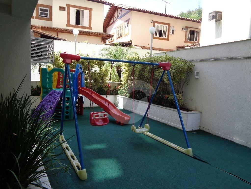 apartamento residencial à venda, santa rosa, niterói. - ap3185