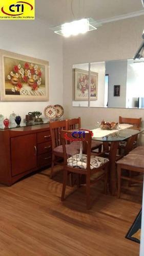 apartamento residencial à venda, santa terezinha, são bernardo do campo - ap2071. - ap2071
