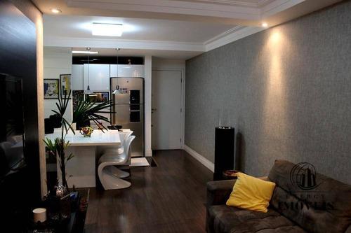 apartamento residencial à venda, santana - ap0158