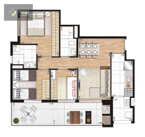 apartamento residencial à venda, santana, são paulo. - ap0920